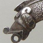 antique silver dragon bracelet