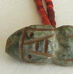 preColumbian bead pendant