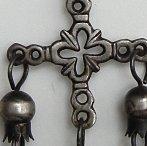 Yalalag cross necklace