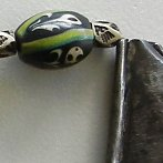 Tuareg amulet ghost beads