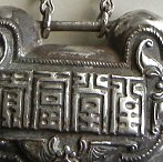 antique Chinese spirit pendant
