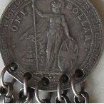 Laos silver necklace