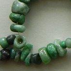 Chiapas jade beads