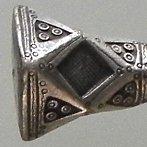 Tuareg silver bracelet heavy