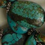 antique Tibetan turquoise bead necklace