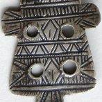 antique hamsa hand pendant necklace