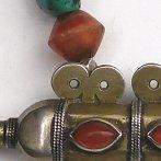 amulet necklace carnelians