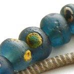 ancient Islamic glass eye beads