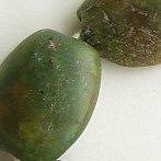 African amazonite beads