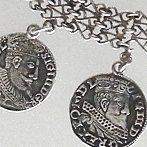 Sigismund III coin necklace