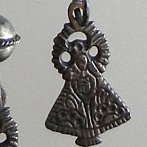 silver necklace Mexico